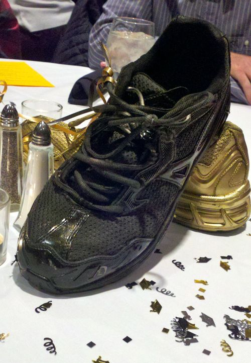 Can i spray paint running shoes